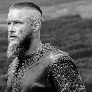 Ragnar Haircut – Crew Cut with Beard