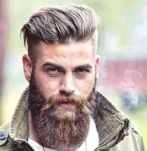 Modern Viking Haircut